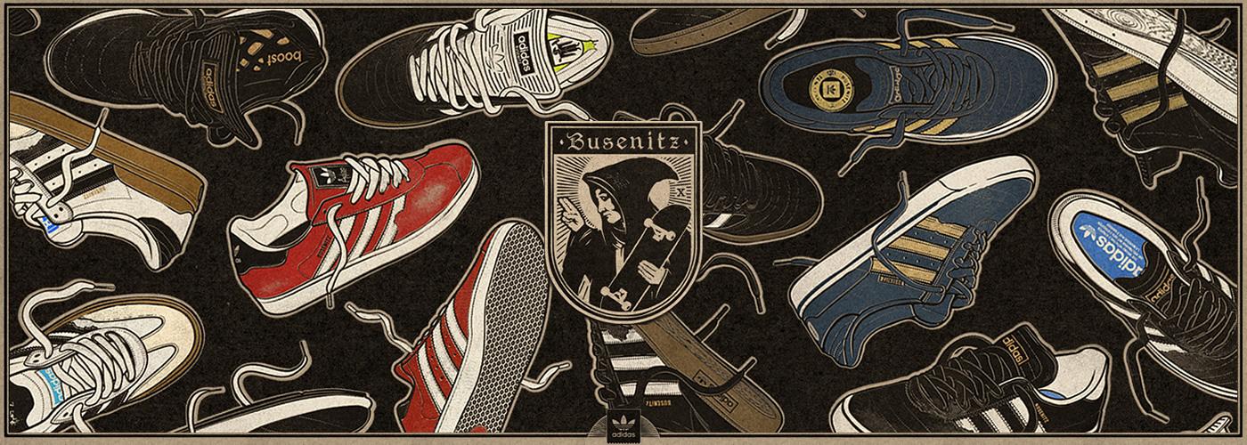 Adidas Skateboarding x Busenitz