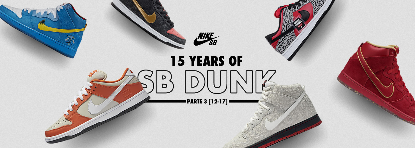 15 years of SB Dunks - Header