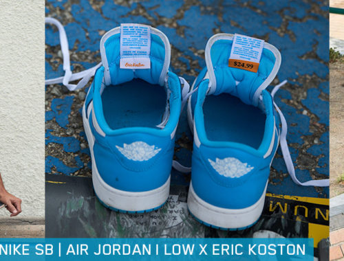 Nike SB Air Jordan Low x Koston UNC