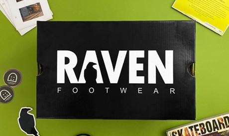 sk8shoesba x Raven foowear